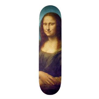 Da Vinci: Mona Lisa Custom Skate Board