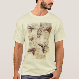 da Vinci -- Shoulder Sketch T-Shirt