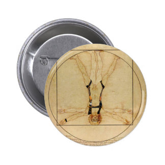 da Vinci Skydiving 6 Cm Round Badge