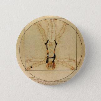 da Vinci Skydiving 6 Cm Round Badge