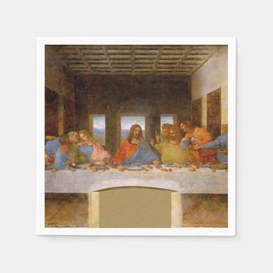 Da Vinci The Last Supper Disposable Serviette