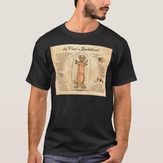 da Vinci's Dachshund T-Shirt