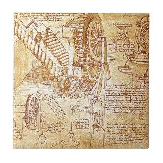 Da Vinci's Notes Tile