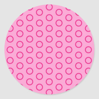 dab dabbed dab scores point circle dotted round sticker
