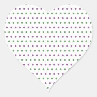 dab dabbed polka dots pünktchen scored must heart stickers