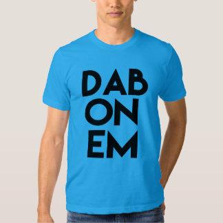 Dab on em funny men's football shirt