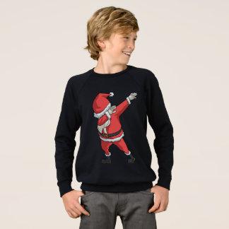 Dab Santa Clause T-shirt Funny Christmas Dabbing