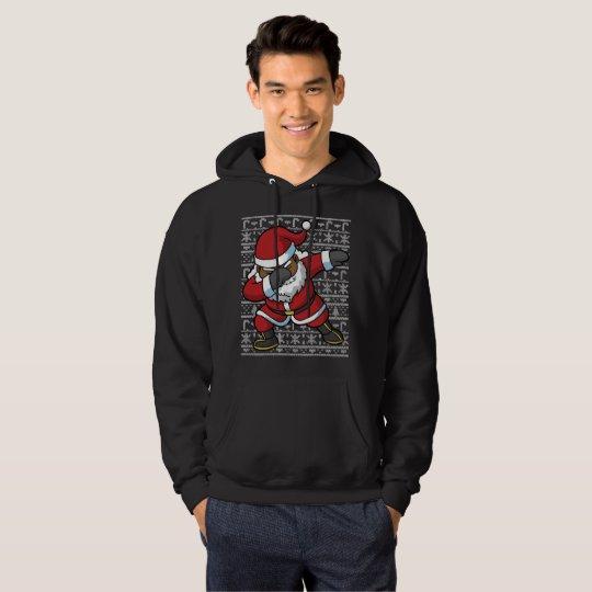 Dabbing Black Santa Dab Ugly Christmas Sweater