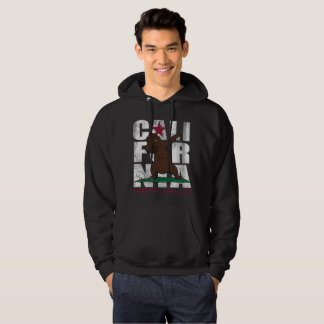 Dabbing California Republic Bear Flag Dab Hoodie