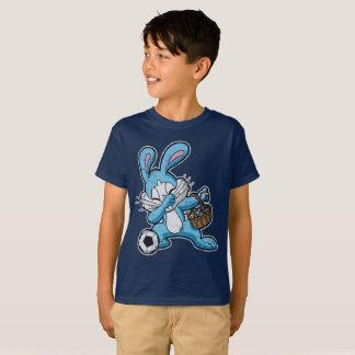 Dabbing Easter Bunny Soccer Dab T-Shirt