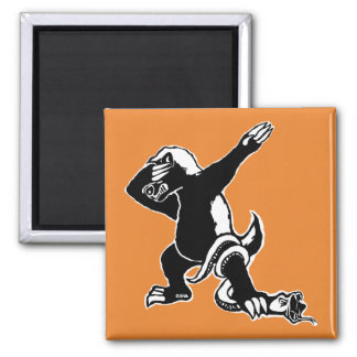 Dabbing Honey badger Magnet