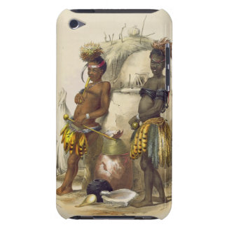 Dabiyaki and Upapazi, Zulu Boys in Dancing Dress, Barely There iPod Cover
