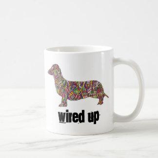 dach, Wired Up Basic White Mug