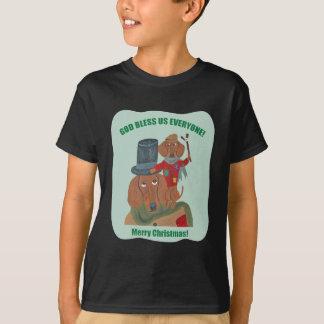 "Dachshund ""A Christmas Carol"" Tiny Tim T-Shirt"