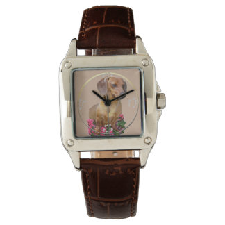 Dachshund Art Gifts Watch