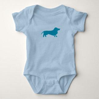 Dachshund Baby Bodysuit