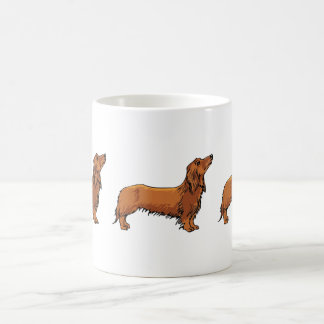Dachshund Basic White Mug