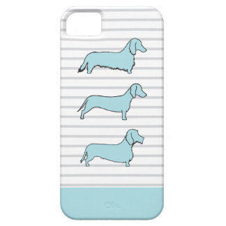 Dachshund Blue Phone Case