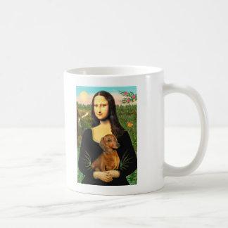 Dachshund (brown1) - Mona Lisa Mug