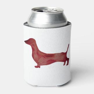 Dachshund Brown Dog Combo Custom Can Cooler