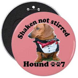 Dachshund Button 6 Cm Round Badge