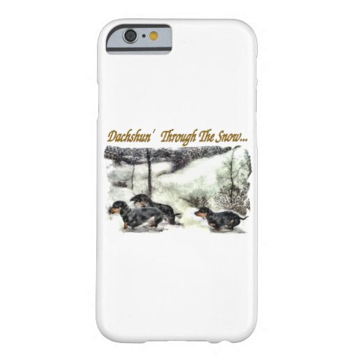 Dachshund Christmas iPhone 6 Case