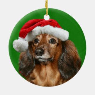 Dachshund Christmas Christmas Ornament