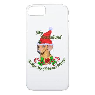 Dachshund Christmas Merry iPhone 7 Case