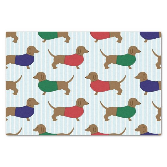Dachshund Christmas Pet Tissue paper