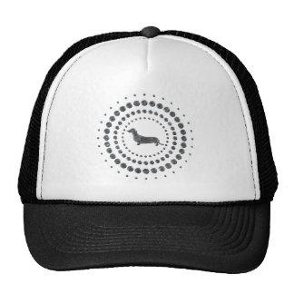 Dachshund Chrome Studs Cap