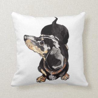 Dachshund cushion pillow