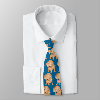 Dachshund Cute Cartoon Dog Tie