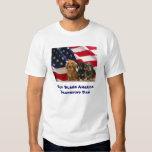 Dachshund Dad God Bless America Shirt