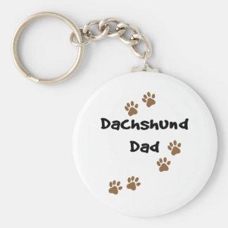 Dachshund Dad Key Ring