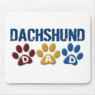 DACHSHUND Dad Paw Print 1 Mouse Mat