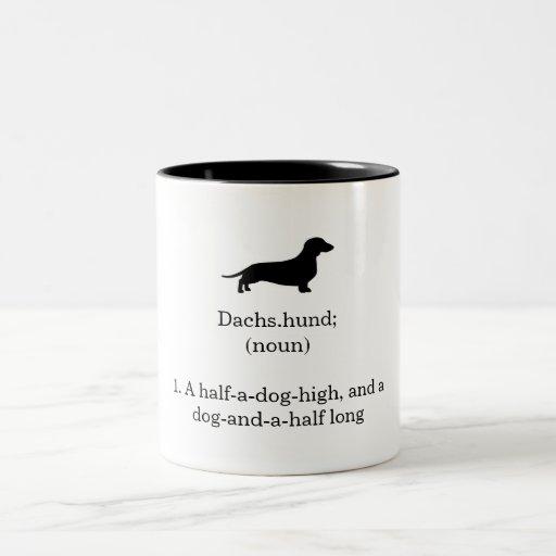 Dachshund Defintion Mug