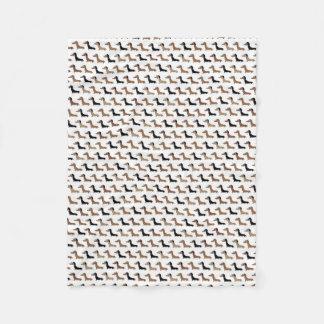 Dachshund design blanket