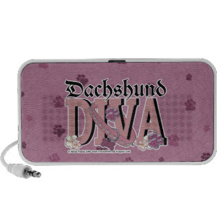 Dachshund DIVA iPhone Speakers