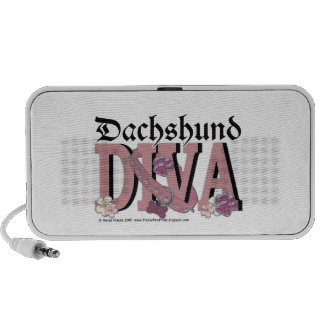 Dachshund DIVA PC Speakers