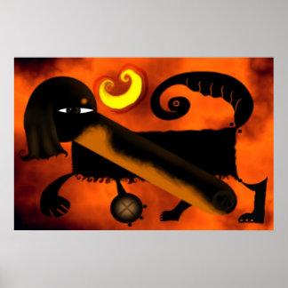 Dachshund dog  2006_apr6_dachshund poster
