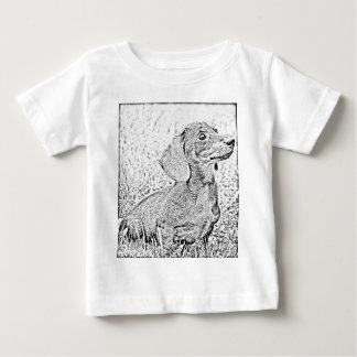 Dachshund dog baby T-Shirt