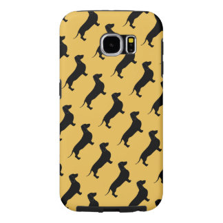 Dachshund Dog Breed Theme Samsung Galaxy S6 Cases
