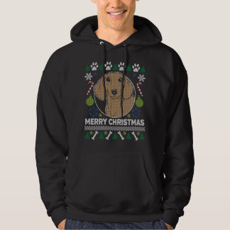 Dachshund Dog Breed Ugly Christmas Sweater