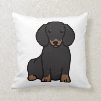 Dachshund Dog Cartoon Cushion