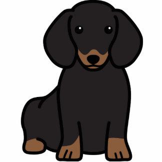 Dachshund Dog Cartoon Standing Photo Sculpture