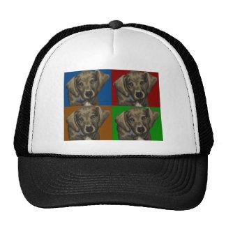 Dachshund Dog Dark Collage Cap