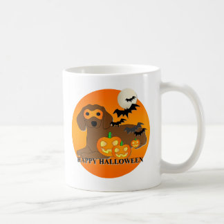 Dachshund Dog Halloween Mug