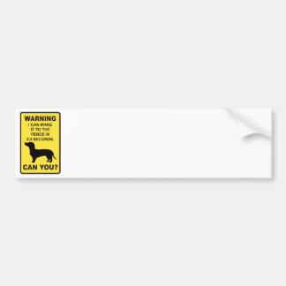 Dachshund Dog Humorous  Doxon funny saying Bumper Stickers