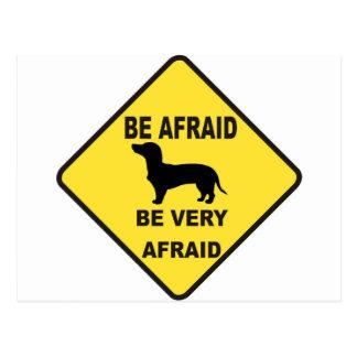 Dachshund Dog Humorous Postcard