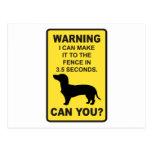 Dachshund Dog Humourous  Doxon funny saying Postcard